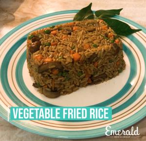 DIY Veggie Fried Rice