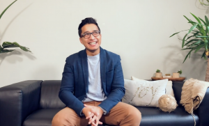 Stemp founder Binson Shrestha