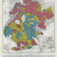 Brooklyn Redlining Map. Image via redhookwaterstories.org