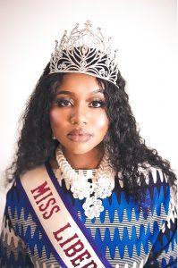 Nupol Kiazolu as miss contestant