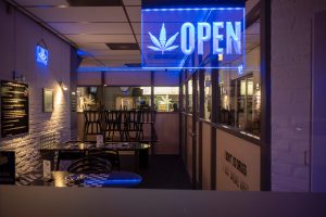 dispensary storefront