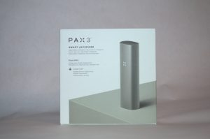Pax 3 packaging