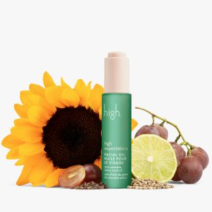 High Expectations Cannabis Facial Oil - product from high beauty