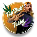 """Alphonso """"Tucky"""" Blunt Jr.- Owner of Blunt's And Moore Dispensary in Oakland, California."""